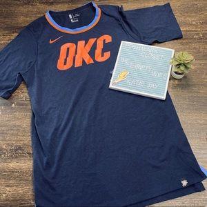 Nike Oklahoma City Thunder Tee Size Mens Large
